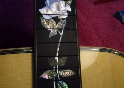Rose inlay # 2